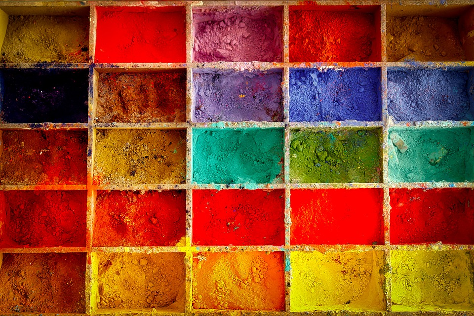 all about mixing colors for oil painting