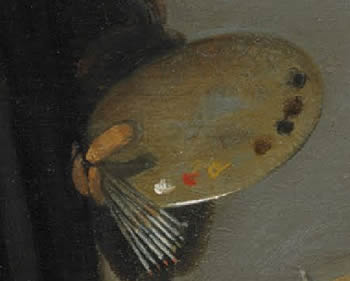 Vermeer's painting techniques