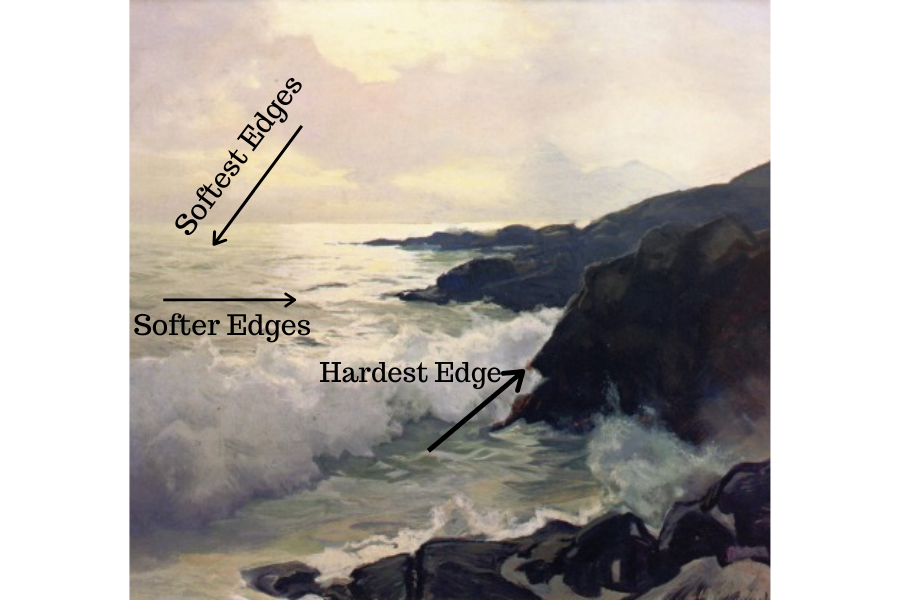 Seascape painting tips for beginners