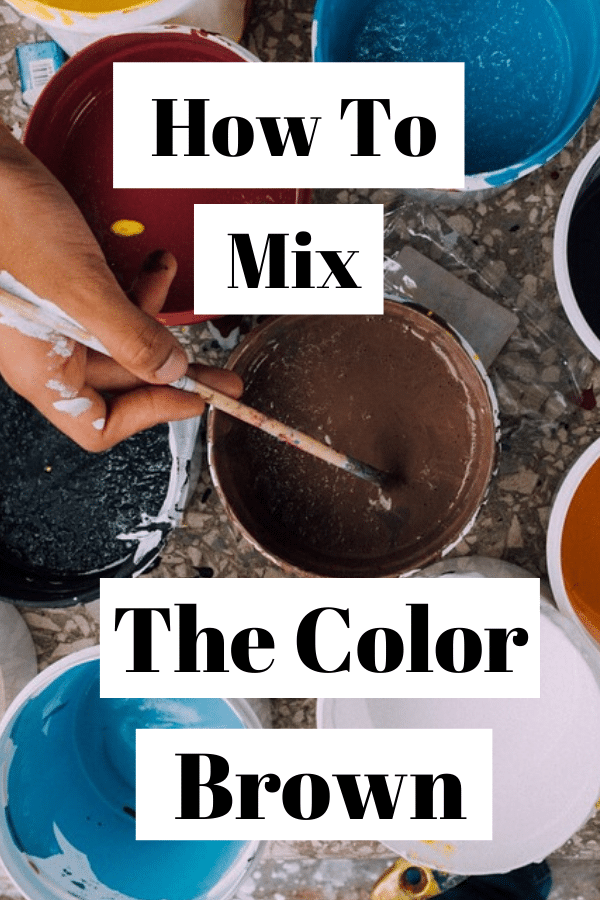 Learn how to mix the color brown! Which colors you need in order to get a good brown. How to mix colors. How to mix brown. Learn color mixing with oil paints. Color mixing with paint. Painting for beginners. Oil painting for beginners. Learn how to paint. Learn how to mix colors. #Colormixing #learnhowtopaint #paintingforbeginners #painting #oilpainting #howtopaint #howtomixcolors