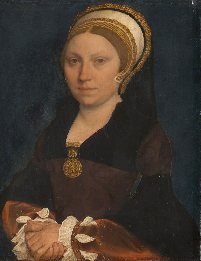 oil portrait painting, hans holbein