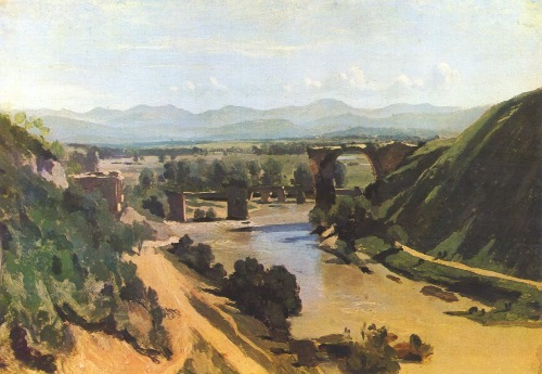 Corot. Edges in painting