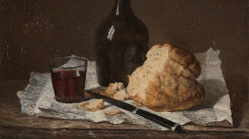chardin. Edges in painting. Edges in Art