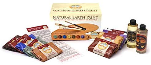 Natural earth paint kit gift set