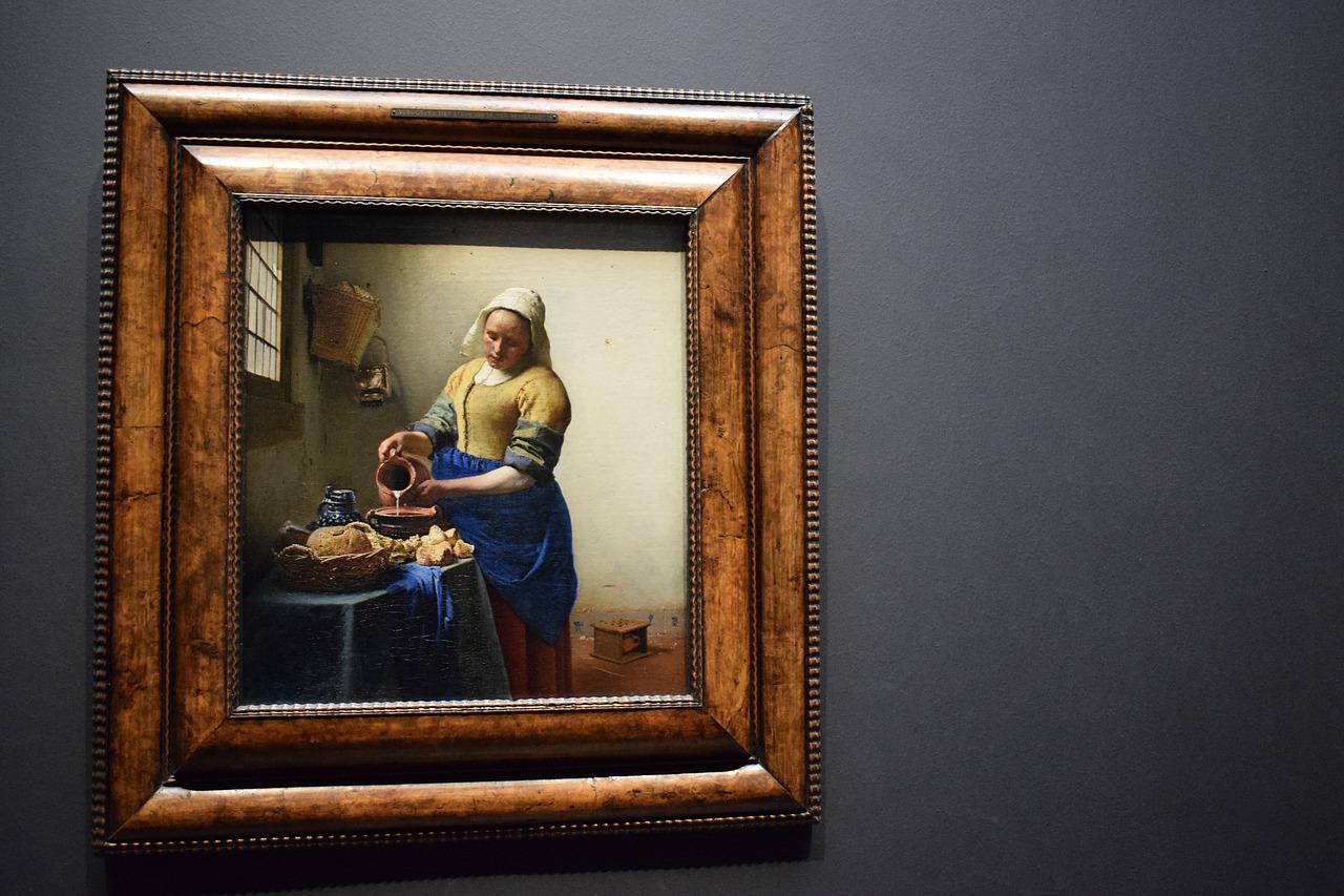Vermeer Painting Technique