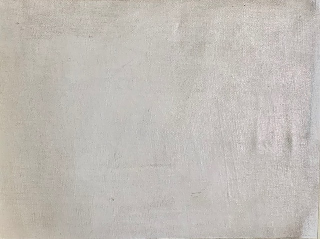 Imprimatura before painting sketch