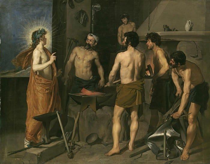 velazquez painting technique, forge of vulcan