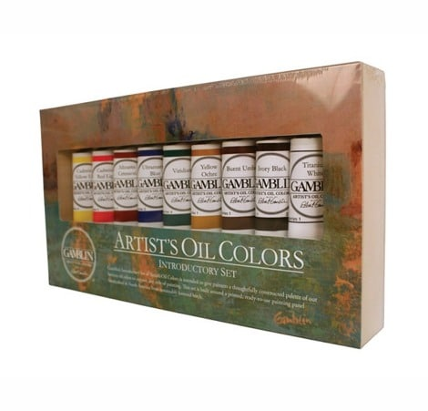 beginning oil paint set, gift guide for painters