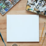 How To Sketch Out a Painting - Creating a Painting Sketch Before Painting