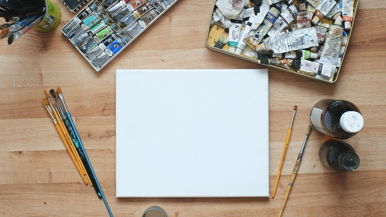 what to do before starting a painting