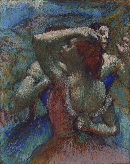 Edgar Degas, Dancers , painting with color and light