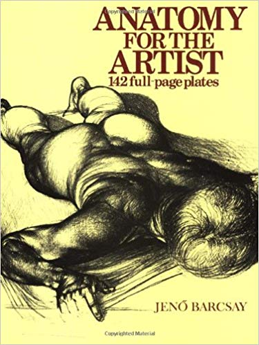 Anatomy for the artist, jeno barcsay