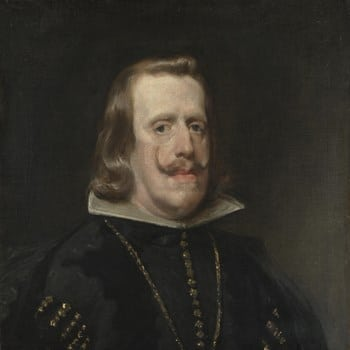 Diego Velazquez, Philip IV of Spain, Low keyed painting
