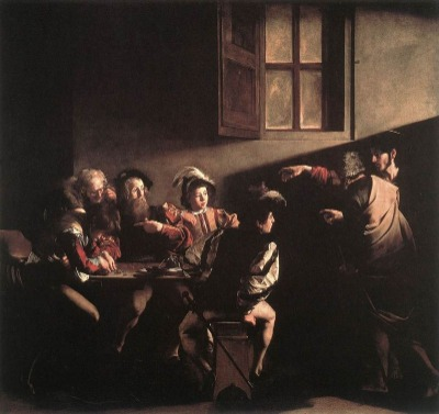 The calling of Saint Matthew, All about the life and work of Caravaggio