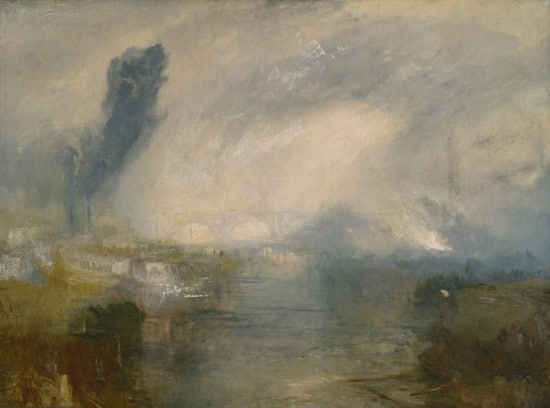J.M.W. Turner, How to paint mist and fog. All about painting mist and fog and smoke and other transient effects. Oil painting tutorial. Learn how to paint. painting for beginners. Oil painting tutorial