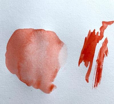 watercolor tips for beginners , dry versus wet paint