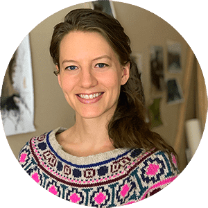 Elisabeth Larson Koehler creator of art studio life