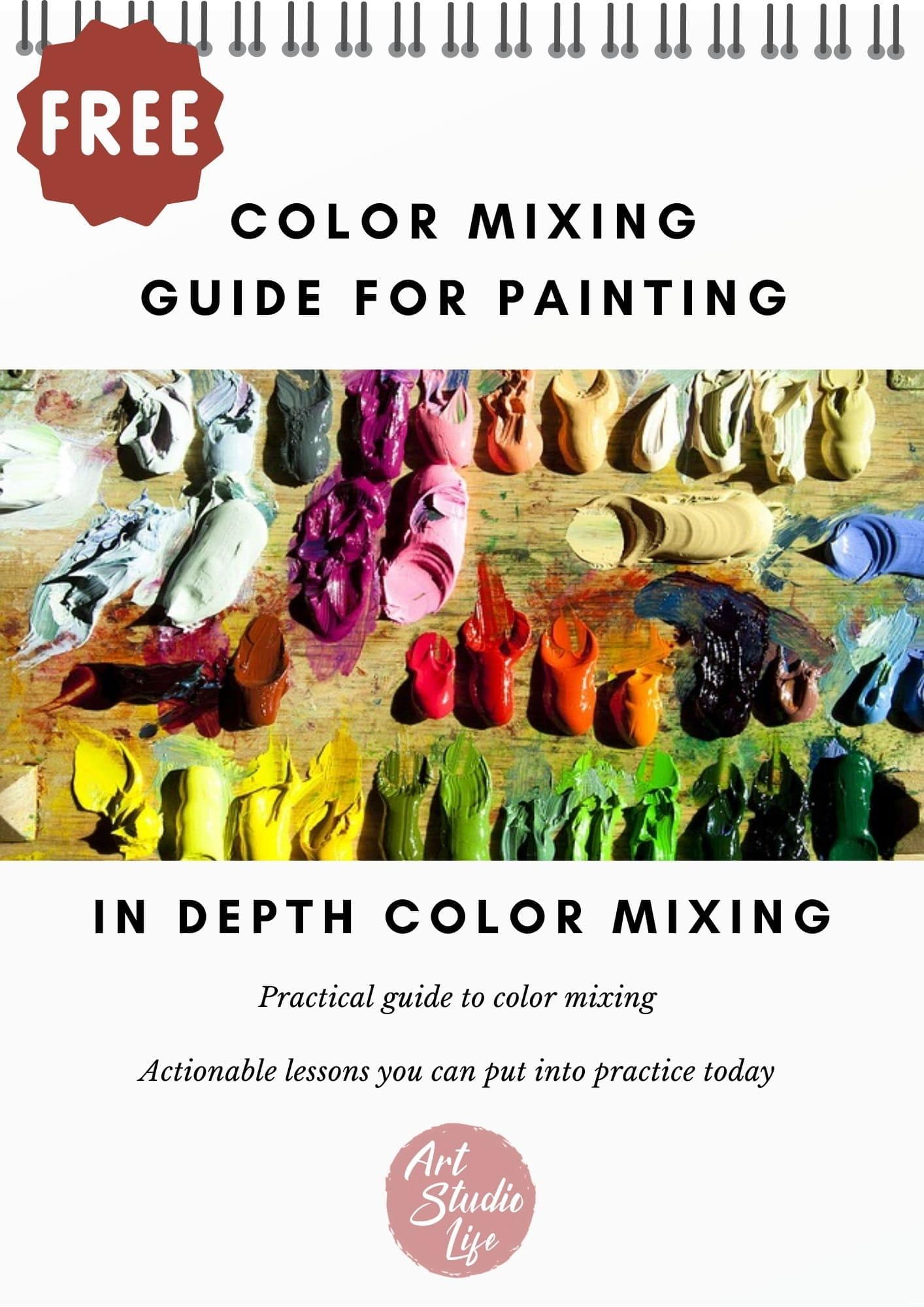 Art Studio Life Free Color Mixing Guide