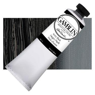 ivory black, gamblin