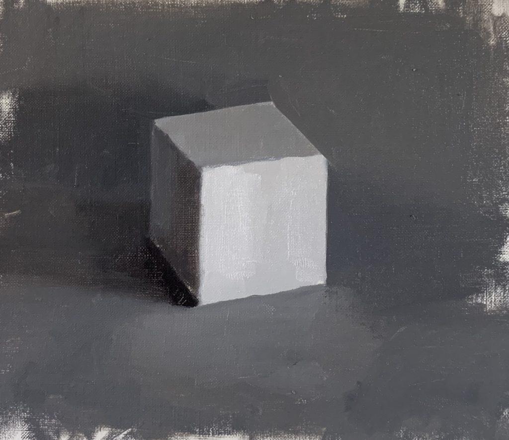 black and white limited palette, monochrome palette