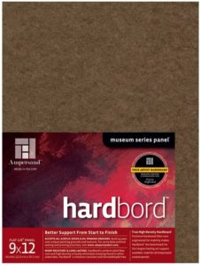 ampersand hardboard panel for painting