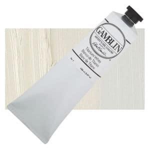 titanium white, Gamblin, oil paint, limited palette color