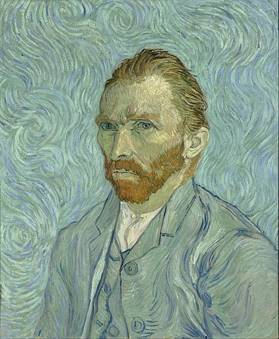analogous colors in a van gogh painting
