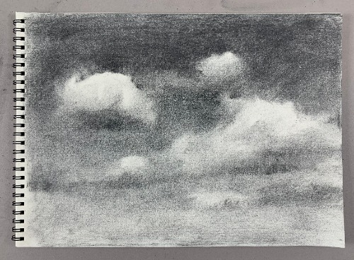 completed cloud drawing