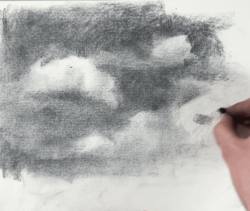 Finding shadow shapes in your cloud drawing