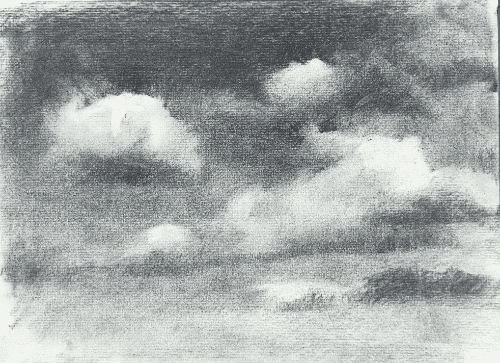 drawing darker clouds