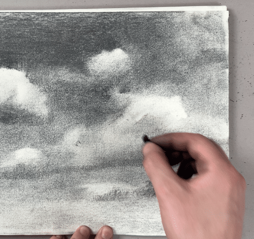 How to create edges in your cloud drawing