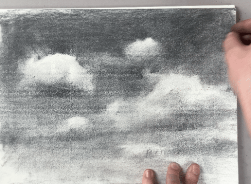 Learn how to draw clouds