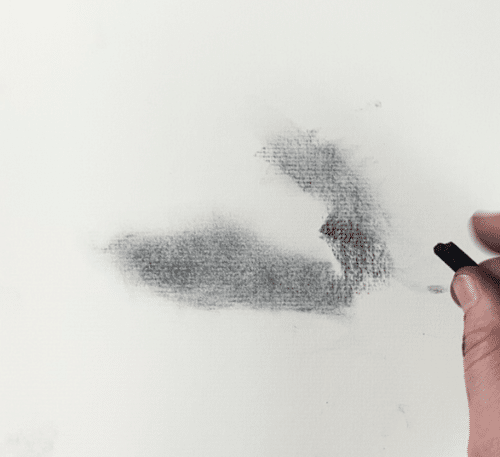 Finding light, dark and medium value areas when drawing clouds. How to draw a cloud