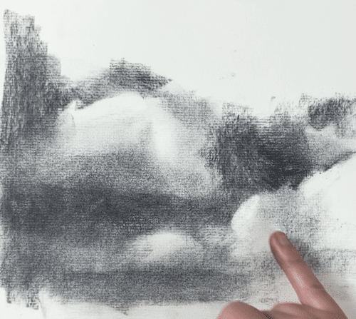creating soft edges when drawing clouds