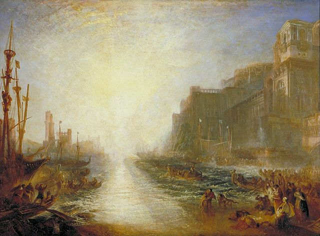 atmospheric perspective, JMW Turner