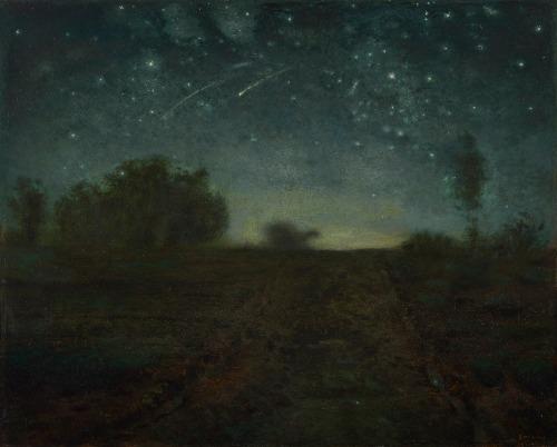 Jean Francois Millet. paint a galaxy