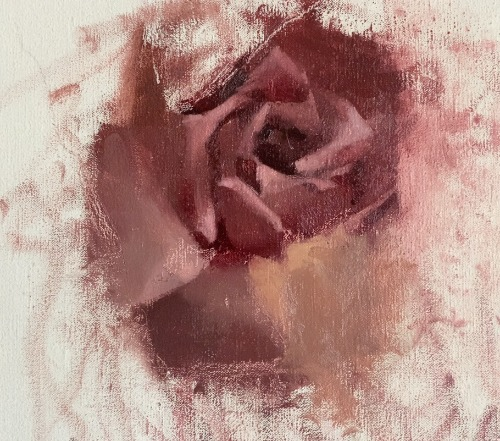 easy painting roses