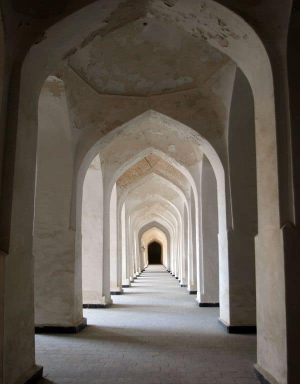 Image of Archways narrowing into distance