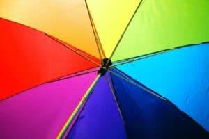 Color wheel in art