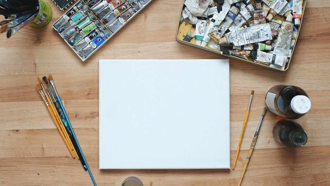 what to do before starting a painting sketch