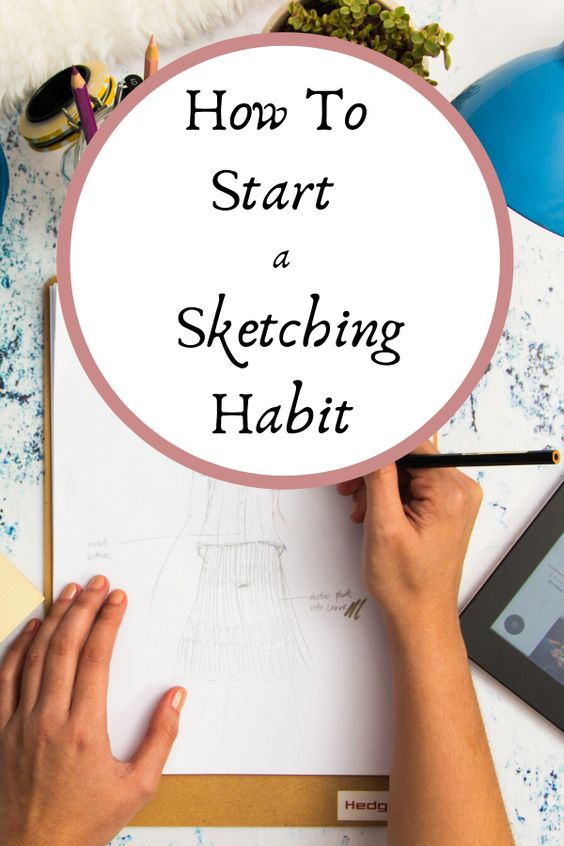 Start making sketching an everyday part of your life with these easy drawing tips. Best drawing and sketching tips for beginners. From ArtStudioLife.com