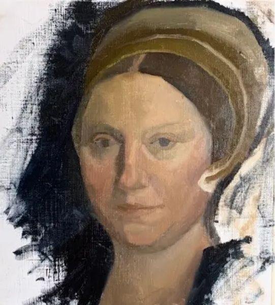 oil portrait painting ideas