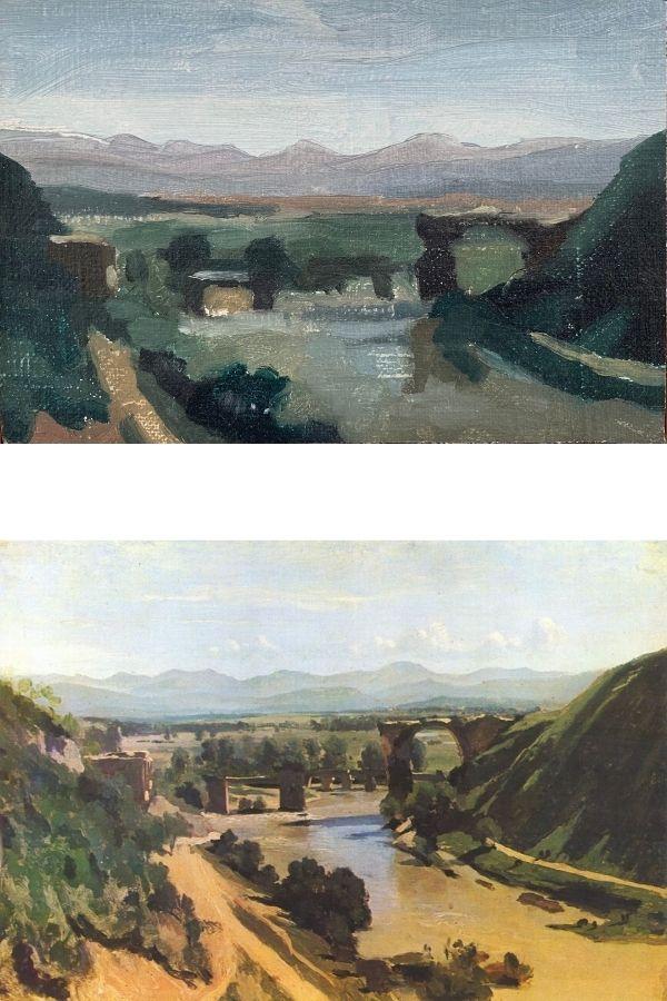 corot landscape painting ideas small master copy thumbnail
