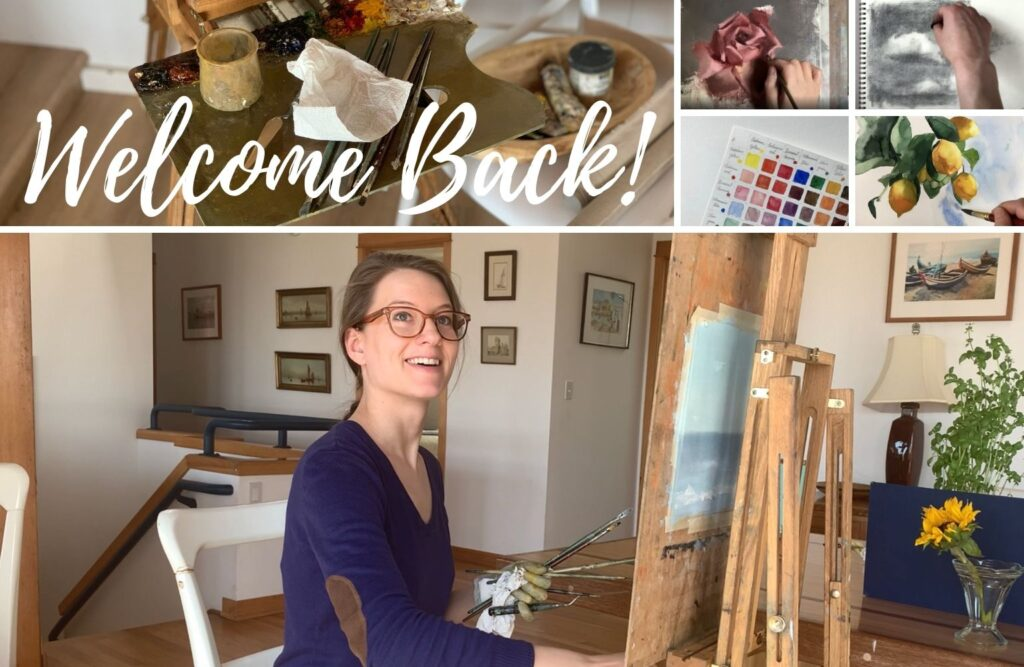stay subscribed to Elisabeth, creator of art studio life to get her artist tips and tutorials