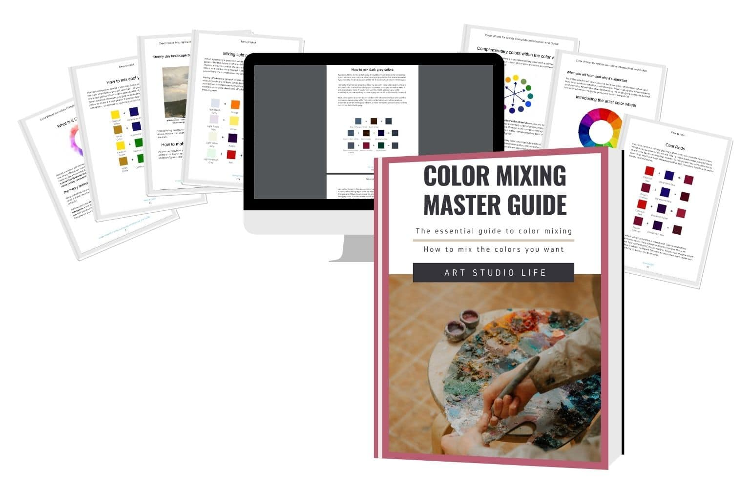 color mixing mater guide ebook contents preview