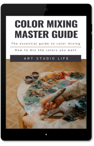 Color mixing master guide ebook cover